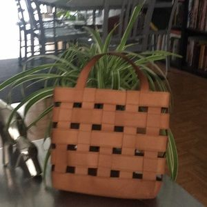 Madewell/ Small/ Leather / Transport/Tote